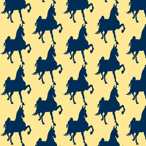 Hot to Trot (Yellow -Blue)