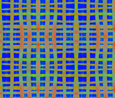 """A Stronger Grid"" fabric by elizabethvitale on Spoonflower - custom fabric"