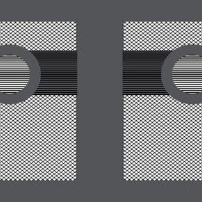 Belted Rectangles on Gray