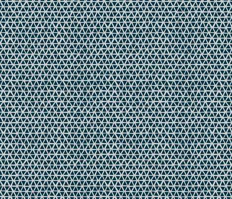 TRIANGULAR_COOL_BLUE fabric by glorydaze on Spoonflower - custom fabric