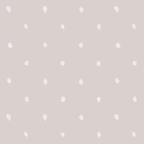 Spring Dots - Gray