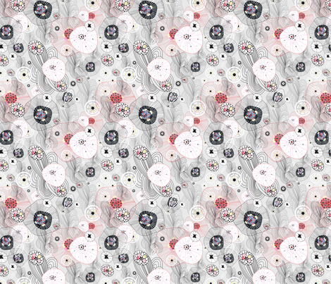 abstract pattern fabric by tanor on Spoonflower - custom fabric