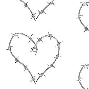 Barbed_Heart B&W