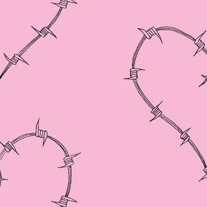 Barbed_Heart Pink