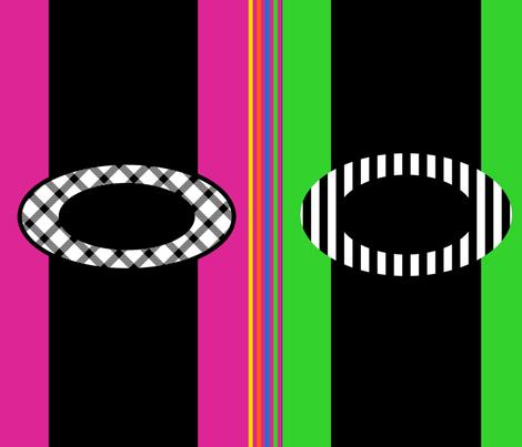 Rainbow Highway fabric by anniedeb on Spoonflower - custom fabric