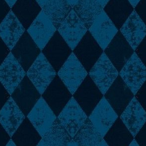 Blue Harlequin Dark Blue Black Diamond
