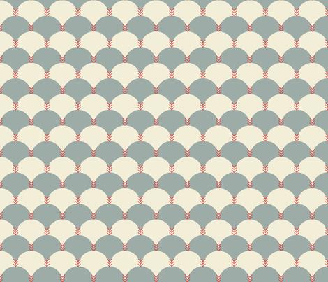 Scallops & Chevrons_JH_14 fabric by michelerosenboom on Spoonflower - custom fabric