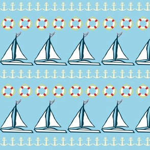 Sailboat Rows