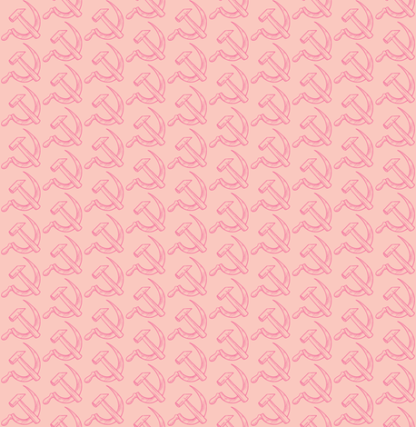 Parlor Pink fabric by amyvail on Spoonflower - custom fabric