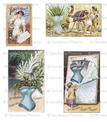 Ladies-Vintage-Ads White