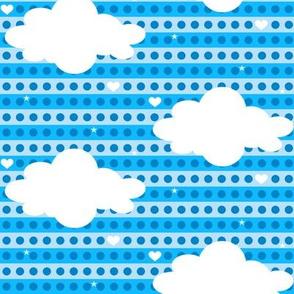 Heavenly Clouds! - Chompa Chompa - 8BitHeaven  - © PinkSodaPop 4ComputerHeaven.com