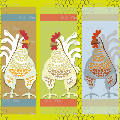 Pop Art Chicken Coop