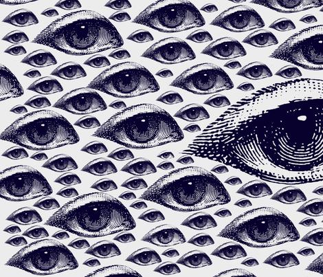 Eye Eye Eye fabric by hollycejeffriess on Spoonflower - custom fabric