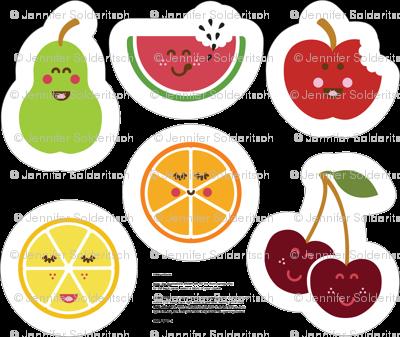 Fruit Bowl Plush set