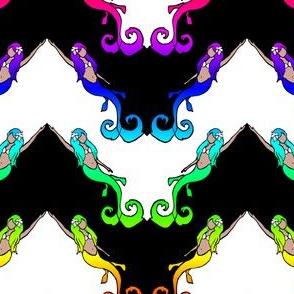 Mermaid Chevron