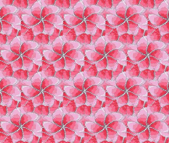 Petunia pink flower 01 fabric by dk_designs on Spoonflower - custom fabric