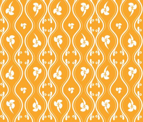 Tropical_Lattice fabric by designerodriguez on Spoonflower - custom fabric