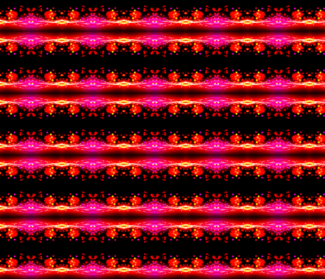Neon Waves fabric by ravynscache on Spoonflower - custom fabric