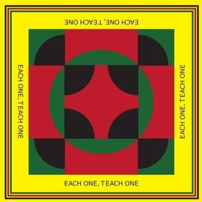 Each One Teach One_Yellow