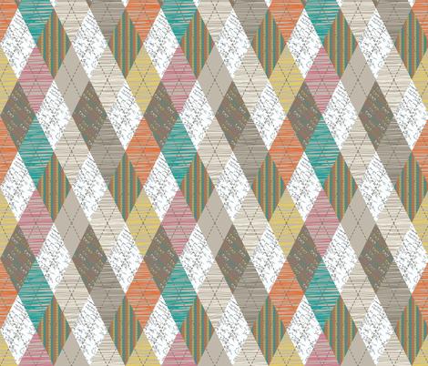 Geek Argyle fabric by meg56003 on Spoonflower - custom fabric