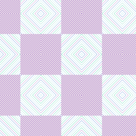 Micro Striped Checkers! - Desert Night - Desert Night Hex - © PinkSodaPop 4ComputerHeaven.com fabric by pinksodapop on Spoonflower - custom fabric