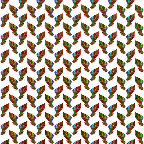 Back and Forth Wings fabric by areams on Spoonflower - custom fabric