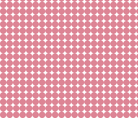 Dottie Coral fabric by honey&fitz on Spoonflower - custom fabric