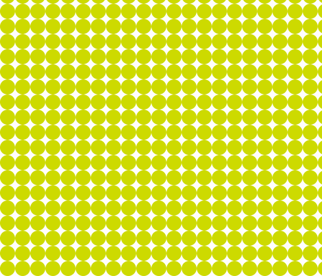 Dottie Lime fabric by honey&fitz on Spoonflower - custom fabric