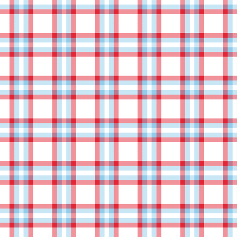 plaid_new__years white_light_blue_red fabric by khowardquilts on Spoonflower - custom fabric