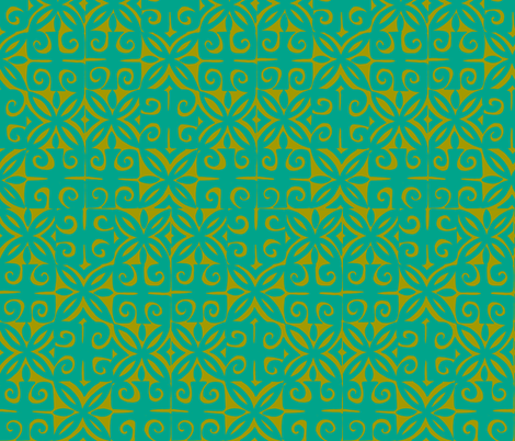 Sophista-tiki signature  the ulitmate combo fabric by sophista-tiki_by_dawn_frasier on Spoonflower - custom fabric