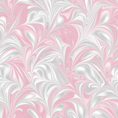 Blush-PSwirl fabric by modernmarbling on Spoonflower - custom fabric
