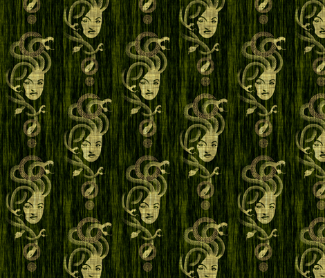 Medusa fabric by thecalvarium on Spoonflower - custom fabric