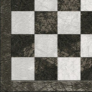 Chess Board - Charcoal Gray