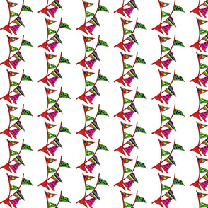 Party Banner Wrapping paper & fabric