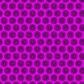 Small Aileron Dots in Purple on Purple
