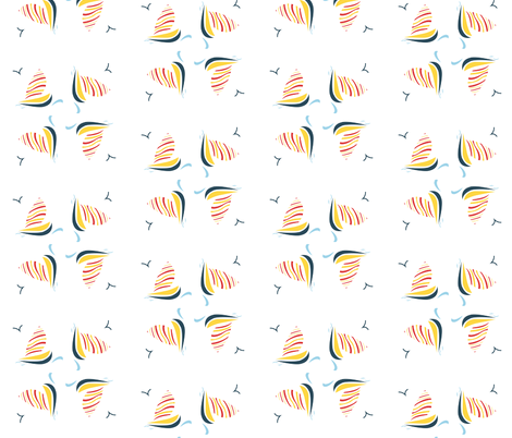 sailing in circles fabric by jchen23 on Spoonflower - custom fabric