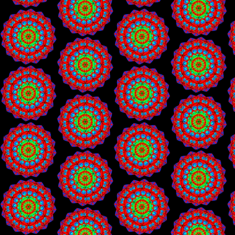 FLOWER OF LIFE 2 fabric by dovetail_designs on Spoonflower - custom fabric