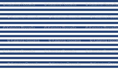 navy blue white stripe