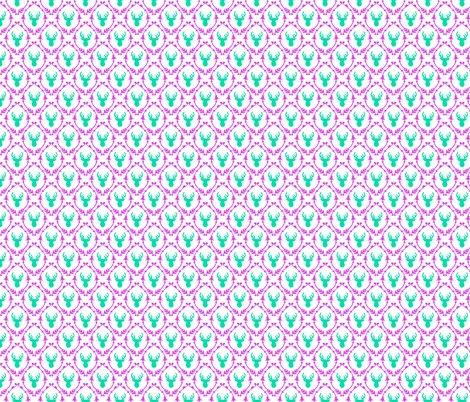 Roh_deer_pattern_-_green_pink_shop_preview