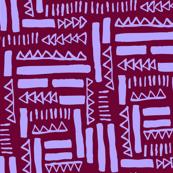 Mini tribe 03 - Lilac