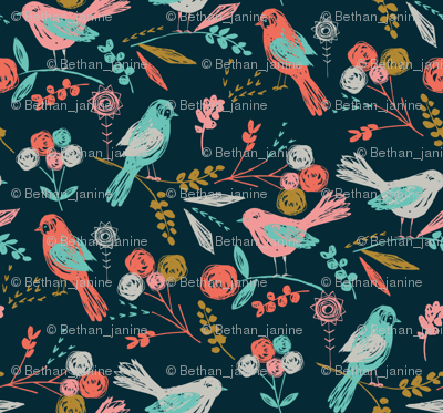 Bloom Birds MINI