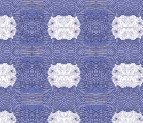 Hydrangea Dreams fabric by shinyjill on Spoonflower - custom fabric
