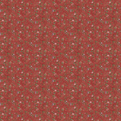 Dusty Pink Flowers fabric by nype on Spoonflower - custom fabric