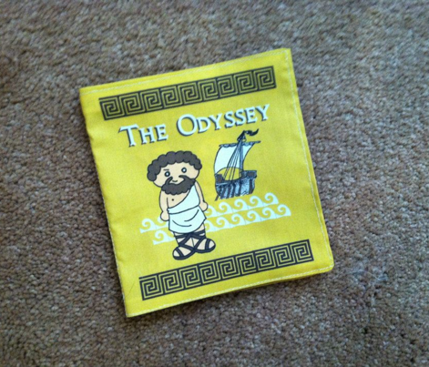 The Odyssey Cloth Quiet Book for Little ones