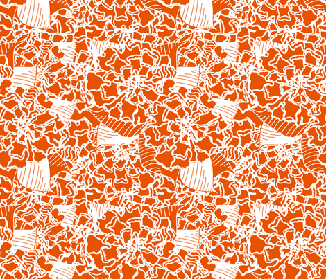 Toss Up Sunshine fabric by lulabelle on Spoonflower - custom fabric