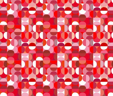 slices - cherry fabric by kurtcyr on Spoonflower - custom fabric