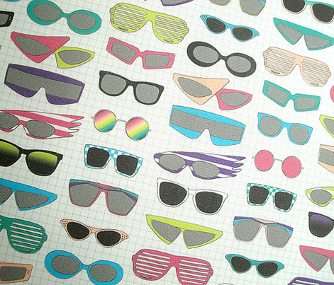 Shades || retro 80s vintage sunglasses glasses fashion neon nerd geek punk emo new wave