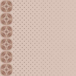 Moroccan Tiles 3 - Brown