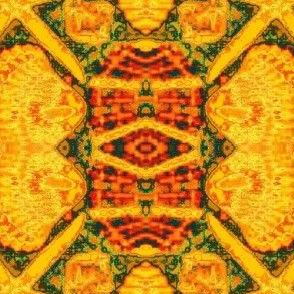 Starfish and Seashells-orange