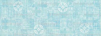 crossflower - light blue